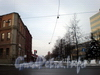 Перспектива улицы Александра Матросова от Большого Сампсониевского проспекта в сторону Выборгской набережной. Февраль 2009 г.
