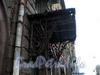 Звенигородская ул., д. 4. Козырек над парадной. Ноябрь 2008 г.