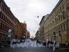 Перспектива Харьковской ул. от Невского пр. в сторону Миргородской ул. Ноябрь 2008 г.
