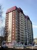 Ул. Дыбенко, д. 21, к. 3, лит. А. Общий вид здания. Фото апрель 2009 г.