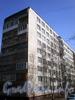 Ул. Дыбенко, д. 25, к. 3 . Фрагмент фасада жилого дома. Фото апрель 2009 г.