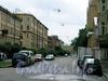 Перспектива Дровяной улицы от Рижского пр.а в сторону набережной Обводного канала. Фото июль 2009 г.