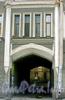 Дровяная ул., д. 1 / Рижский пр., д. 20. Бывший доходный дом. Фрагмент фасада по Дровяной улице. Фото июль 2009 г.