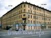 Дровяная ул., д. 14 / наб. Обводного канала, д. 183. Бывший доходный дом. Общий вид здания. Фото июль 2009 г.