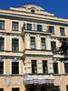 Ул. Достоевского, д. 19. Бывший доходный дом. Фрагмент фасада. Фото июль 2009 г.