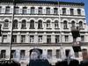 Ул. Достоевского, д. 21. Бывший доходный дом. Фрагмент фасада здания. Фото июль 2009 г.