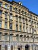 Ул. Достоевского, д. 23. Бывший доходный дом. Фрагмент фасада. Фото июль 2009 г