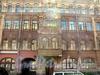 Ул. Достоевского, д. 38. Доходный дом Н.Н.Никонова. Фрагмент фасада здания. Фото июль 2009 г.