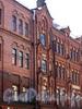 Ул. Достоевского, д. 40-44. Здания фабрики К.Б.Зигеля. Фрагмент фасада. Фото июль 2009 г.