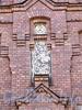 Ул. Достоевского, д. 44. Производственное и жилое здание фабрики К.Б.Зигеля. Фрагмент фасада. Фото июль 2009 г.