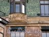 Социалистическая ул., д. 14. Бизнес-центр «ОВЕНТАЛ Хистори». Художественное оформление фасада здания. Фото июль 2009 г.
