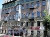 Социалистическая ул., д. 14. Бизнес-центр «ОВЕНТАЛ Хистори». Фасад здания. Фото июль 2009 г.