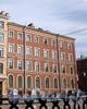 Гороховая ул., д. 27. Бывший доходный дом. Фасад здания по набережной канала Грибоедова. Фото июль 2009 г.