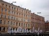 Дом 27 по Гороховой улице и дом 49 по набережной канала Грибоедова. Фасады доходного дома по набережной. Фото апрель 2009 г.