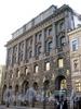 Большая Морская ул., д. 15. Здание Русского торгово-промышленного банка. Фасад здания. Фото июль 2009 г.
