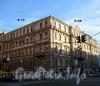 Большая Морская ул., д. 28 / Гороховая ул., д. 13. Бывший доходный дом. Общий вид здания. Фото июль 2009 г.