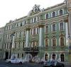 Большая Морская ул., д. 29. Особняк П.А. Урусова (Е.П. Сазиковой). Фасад здания. Фото июль 2009 г.