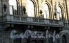 Большая Морская ул., д. 32. Здание Русского для внешней торговли банка. Балкон. Фото июль 2009 г.