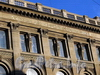 Большая Морская ул., д. 32. Здание Русского для внешней торговли банка. Фрагмент фасада здания. Фото июль 2009 г.