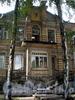 Дровяная ул., д. 7Б, лит. А. Особняк В.Е.Грачева. Центральная часть фасада здания. Фото июль 2009 г.