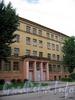 Дровяная ул., д. 7, лит. А. Гимназия №278 Адмиралтейского района. Фасад здания. Фото июль 2009 г.