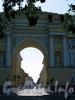 Перспектива Галерной улицы от Сенатской площади в сторону площади Труда. Фото июль 2009 г.