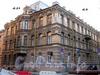Галерная ул., д. 21 / Замятин пер., д. 3. Бывший доходный дом. Общий вид здания. Фото июль 2009 г.