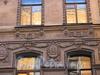 Галерная ул., д. 21. Бывший доходный дом. Фрагмент фасада. Фото июль 2009 г.