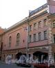 Галерная ул., д. 33. Особняк С.П.фон Дервиза. Фасад здания. Фото июль 2009 г.