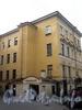 Фурштатская ул., д. 7.жилой дом при евангелическо-лютеранской церкви Св. Анны. Вид со двора. Фото сентябрь 2009 г.