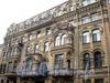 Фурштатская ул., д. 20. Доходный дом Н. Н. Зайцевой. Фасад здания. Фото сентябрь 2009 г.