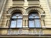 Фурштатская ул., д. 20. Доходный дом Н. Н. Зайцевой. Фрагмент фасада здания. Фото сентябрь 2009 г.