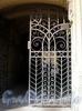 Фурштатская ул., д. 20. Доходный дом Н. Н. Зайцевой. Решетка ворот. Фото сентябрь 2009 г.