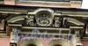 Ул. Чайковского, д. 18. Бывший доходный дом. Медальон с монограммой бывшего владельца. Фото сентябрь 2009 г.