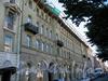 Бол. Конюшенная ул., д. 13. Доходный дом Ф. К. Вебера. Фасад здания. Фото июль 2009 г.