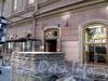Бол. Конюшенная ул., д. 25. Здание Французской реформатской церкви св. Павла. Подготовительные работы к реставрации фасада. Фото июль 2009 г.