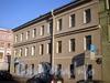Ул. Черняховского, д. 55. Бывший доходный дом. Фасад здания по ул. Черняховского. Фото октябрь 2009 г.