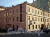 Ул. Черняховского, д. 55. Бывший доходный дом. Общий вид. Фасады здания по улице Черняховского и Транспортному переулку. Фото октябрь 2009 г.