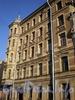 Ул. Черняховского, д. 69. Доходный дом М. В. Харламова. Фасад здания. Фото октябрь 2009 г.