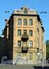 Ул. Чапаева, д. 10 / ул. Котовского, д. 1 (правая часть). Бывший доходный дом. Общий вид здания. Фото август 2009 г.