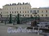 Ул. Бол. Морская, д. 61. Здания комплекса «Отделения почтовых карет и брик». Вид от Почтамтского пешеходного моста.
