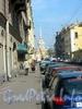 Перспектива Гороховой улицы от Большой Морской улицы в сторону Адмиралтейского проспекта. Фото 2004 года.
