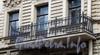Гороховая ул., д. 32. Доходный дом П. Д. Яковлева. Решетка балкона. Фото июль 2009 г.