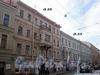 Дома 33 и 35 по Гороховой улице. Фото август 2009 г.