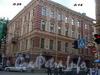 Бол. Морская ул., д. 26 / Гороховая ул., д. 14 (левая часть). Доходный дом А. С. Воронина. Общий вид здания. Фото июнь 2004 г.