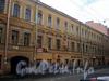 Гороховая ул., д. 41. Доходный дом Дурышкина. Фрагмент фасада здания. Фото август 2009 г.