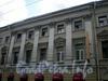 Гороховая ул., д. 45 / Садовая ул., д. 38. Фрагмент центральной части фасада по Гороховой улице. Фото июль 2009 г.