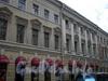 Гороховая ул., д. 45 / Садовая ул., д. 38. Центральная часть фасада по Гороховой улице. Фото июль 2009 г.