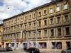 Гороховая ул., д. 54. Бывший доходный дом. Фасад здания. Фото июль 2009 г.