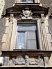 Гороховая ул., д. 54. Бывший доходный дом. Фрагмент фасада здания. Фото июль 2009 г.